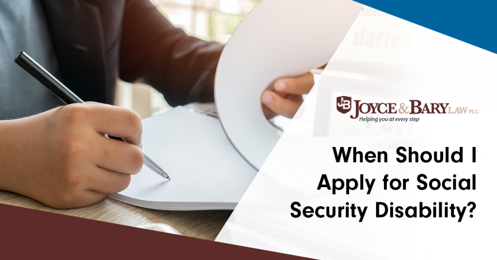 when should i apply for social security disability